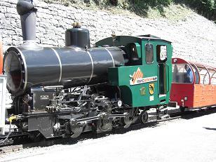 ロートホルン鉄道・機関車