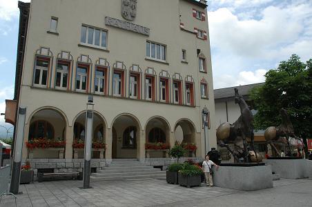 19 リヒテンシュタイン・ファドーツ市庁