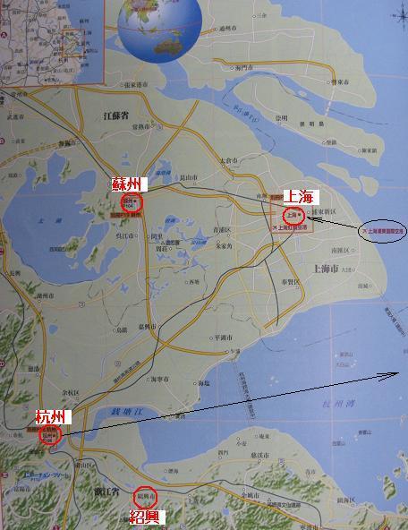 地図・江南