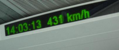 12 リニアモーターカー スピード
