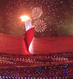 北京オリンピック 聖火
