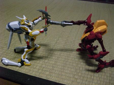 紅蓮弐式対ランスロット