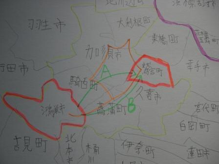 鷲宮神社地図3