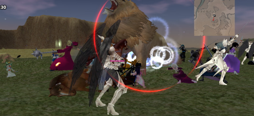 巨大ライオン1