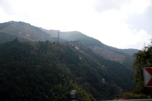 中田窯への道のり