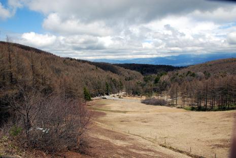 入笠山登り始め