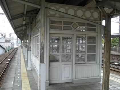浜寺公園駅待合室