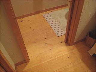 0806トイレ1階床