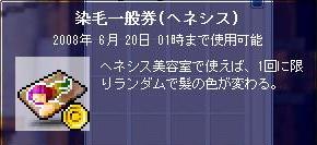 染毛一般券01