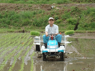 たまの農作業も楽しいかも・・