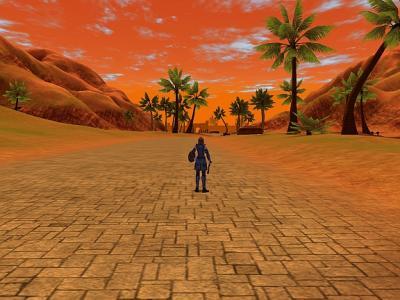 夕陽のバビリム