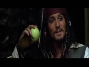 りんごを囓るジャック