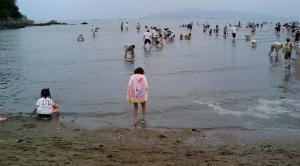 潮干狩り3