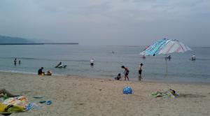 淡路島国際ホテルアレックス前ビーチ