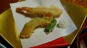 ほかほかの天ぷら