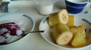 ホテルの朝食私のデザート