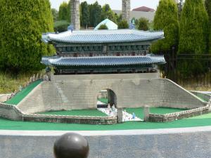 韓国の南大門