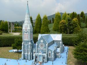 ニュージーランドのクライストチャーチ大聖堂