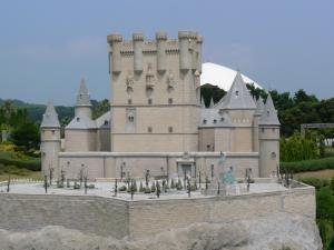 スペインのセゴビア城