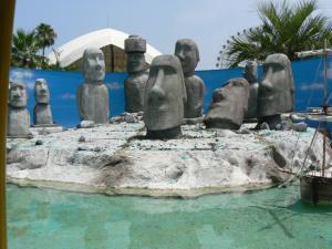 イースター島 モアイ像