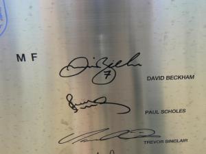 ベッカムのサイン