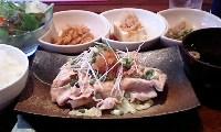 せたカフェキッチン(豚ロースのしゃぶしゃぶ)