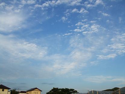 1良い天気♪