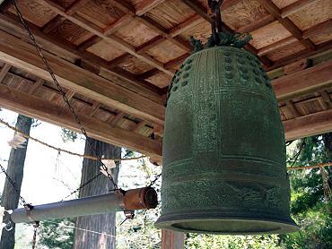 赤郷八幡宮の梵鐘