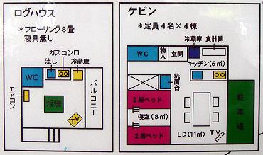 内部のレイアウト図