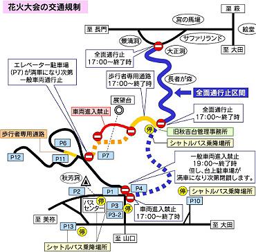 交通規制(2007年の場合)