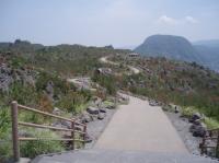 桜島上の方反対側