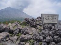 裏側の桜島