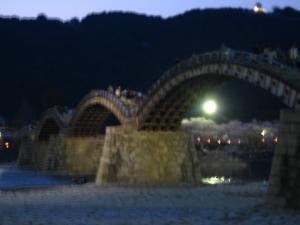 080405錦帯橋夜
