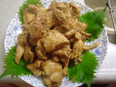 鶏肉のスパイシーソテー