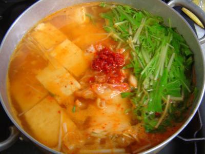 豆腐チゲ(味噌味)