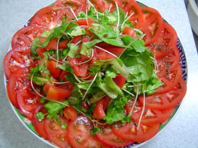 トマトのサラダ0706