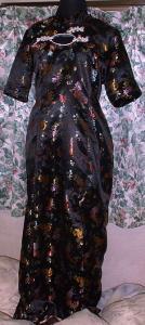 オリジナルチャイナドレス〔黒〕