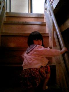 掛川城・階段