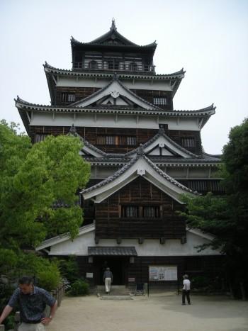 広島城・天守閣