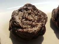 バレンタイン用ロゼチョコケーキ試作2