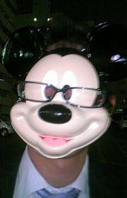 眼鏡ミッキー