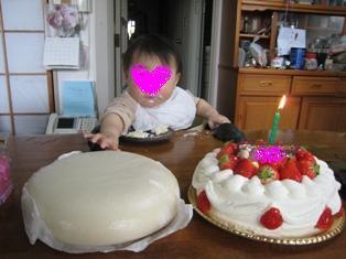 餅とケーキ
