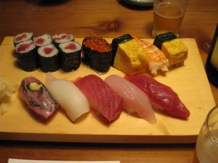 日本海 寿司