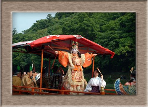 三船祭舞楽