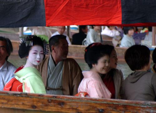 三船祭舞妓さん