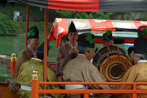 三船祭雅楽