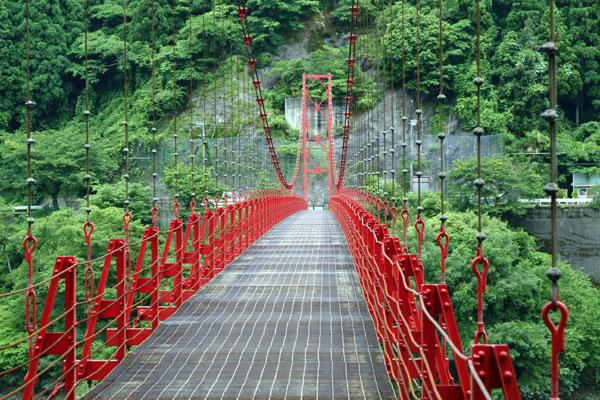蔵王橋対岸より