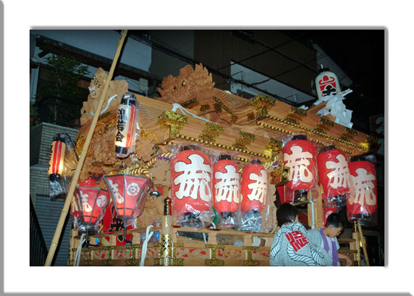 平野郷夏祭り流れ