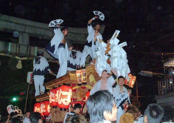 平野郷夏祭り宮入は