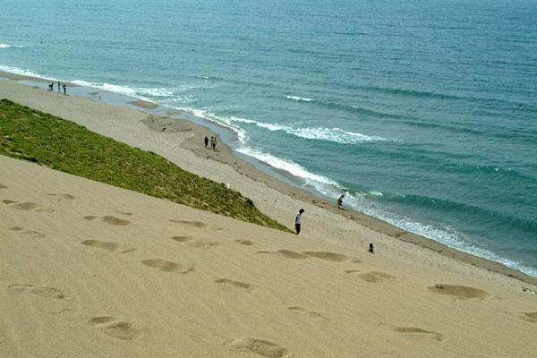 鳥取砂丘と海岸
